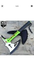 16 Zombie Survival Camping Tomahawk Throwing Axe Battle Hatchet Hunting