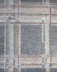 Hand-knotted Rug Carpet 8and039x10and0391 Gabeh Mint Condition