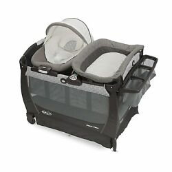 Graco Packand039nplay Playard Snuggle Bouncer Portable Infant Seat Baby Shower Gift