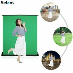 Selens Green Screen Wrinkle-resistant Backdrop Background With Auto-locking 2m
