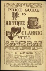 Price Guide To Antique And Classic Still Cameras By J. Excellent Condition