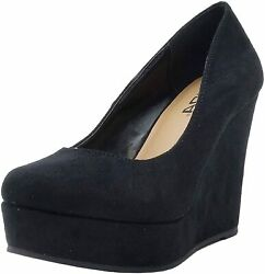 Soda Womenand039s Beer Platform Wedge Shoes