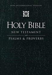 Niv, Holy Bible New Testament With Psalms And Proverbs, By Zondervan Mint