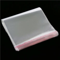 Clear Resealable Cello Cellophane Bag Good For Bakery Candle Soap Cookie 20/500p