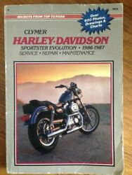 Harley-davidson Sportster Evolution 1986-1987 Service By Ron Wright And Alan