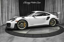 2018 Porsche 911 Gt2 Rs Only 1800 Miles Carbon Hood And Mirrors 2018 Porsche 911 Gt2 Rs Only 1800 Miles Carbon Hood And Mirrors White