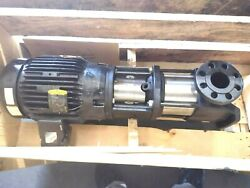 New Grundfos Cr15-3 7.5hp Inline Multi-stage Transfer Centrifugal Water Pump