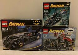 Lego Batman Vintage Sets X3 - Sealed Unopened Will Sell Separate