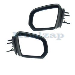 09-10 Benz Gl And Ml-class Mirror Power Folding W/signal And Puddle Lamp Set Pair