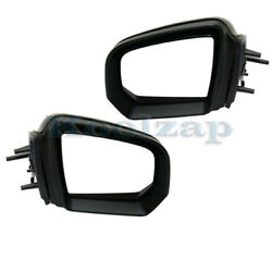 09-10 Benz Gl And Ml-class Mirror Power W/memory And Signal And Puddle Lamp Set Pair