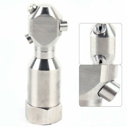 3 Jetter Pressure Washer Spray Tips Nozzles High Power Quick Connect 1 Inch Set