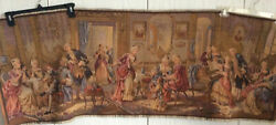 NEW Wall Tapestry Belgium Hanging Art Antique Victorian 54in W x 19in H