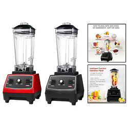 Professional 62 Oz Countertop Blender For Smoothies Ice Crush Us Plug