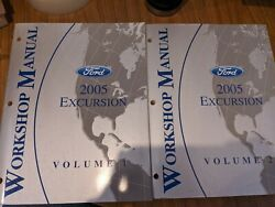 2005 Ford Excursion Truck Workshop Repair Service Manuals