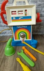 Fisher Price Gas And Go Service Center Station 984 Vintage 1983 Toy Gas Pump