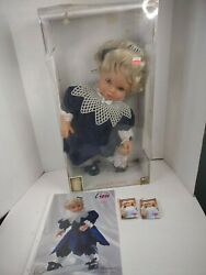 Lissi Puppen Doll Veronica 22 1995 Limited Only 1000 Pcs Germany W/ Coa And Box