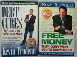 Kevin Trudeau's Free Money And Debt Cures They Don't Want You To Know About-lot 2