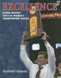 Uconn Huskies 2004 Ncaa Women's Basketball Champions By Hartford Courant Vg+