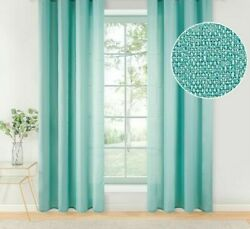 Modern Textured Voile Curtains Solid Patterned Yarn Dyed For Home Essentials New