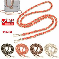 Replacement Purse Leather Chain Strap Handle Shoulder For Crossbody Handbag Bag $9.30