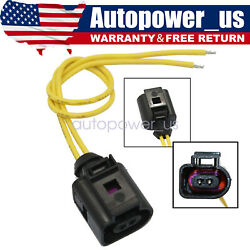 1x Outer Ambient Air Temperature Plug Pigtail Wiring For Vw Jetta Passat Audi