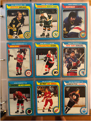 1979-80 Topps Hockey Complete Set Nm-mt - With Beautiful Wayne Gretzky Rookie 18