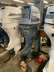 1987 Yamaha 90 Hp Carbureted Carb 2-stroke 20 Outboard Boat Motor Engine 70