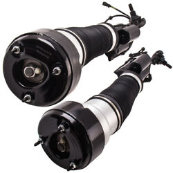 Pair Front Air Suspension Shock Strut For Mercedes W221 4matic S Class 2007-2012