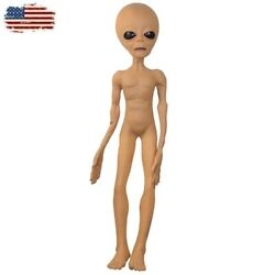 Alien Latex Lifesize Horrific Ufo Scary Horror Area 51 For Halloween Party Prop