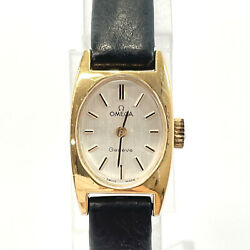 Omega Watches Geneve Hand Winding Vintage Stainless Steel Women