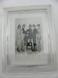Elvis Presley - Original Photo With Autograph Hand Signed With Acrylic Frame