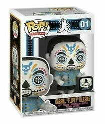 Signed Funko Pop Gabriel Fluffy Iglesias Day Of The Dead Exclusive Le 4000