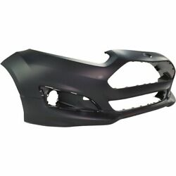 New Front Bumper Cover For 14-19 Ford Fiesta Fo1000692 Ships Today