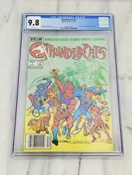 Thundercats 1 First Print Newsstand Cgc 9.8 White Pages Marvel/star Comics 1985