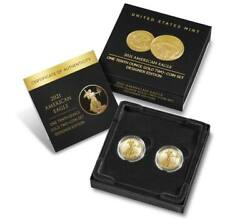 American Eagle 2021 One-tenth Ounce Gold Two-coin Set Designer Edition - 21xk