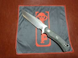 Ramon Chaves Knives Custom Repercussion Fixed Blade Cpm 3v Steel Micarta Handles
