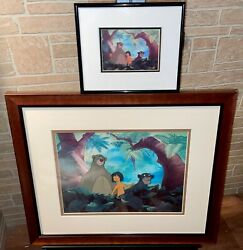 Disney Jungle Book Cel Jungle Pals Extremely Rare Animation Promo Cell Set