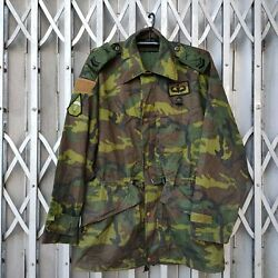Vintage Taiwan Army Roc Armed Forces 90and039s Erdl Camouflage Field Jacket