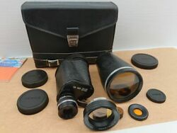 1984 Soviet Binoculars Mp12h40 20x60 Ussr Zomz Russian With Carrying Case