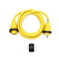 Amp Up Marine Cords 30a X 12' Boat Shore Power Electrical Cord - 21311 New
