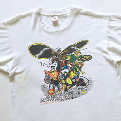 1990 Vintage Marvel Tales Tee Shirt - Xl Feat. X-men And Spider-man