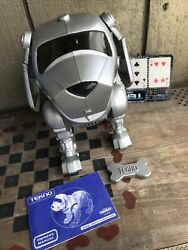 Vintage Tekno, The Robotic Puppy By Quest With Owner's Manual. Tested Works