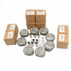 Enigne Pistons And Rings Std Andphi23mm Fit For Porsche Cayenne S / Gts 92a 9pa 4.8l
