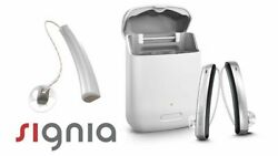 Signia Styletto X Latest Hearing Aids Pair 2 Year Warranty Included