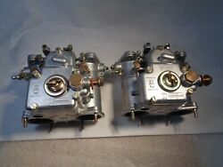 Weber 42 Dcoe 8 Carbs Totally Restored Pair Made In Italy
