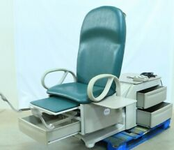 Brewer 6500 Access High-low Medical Exam Table Foot Switch Stirrups