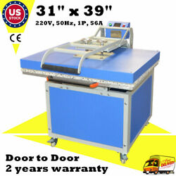 Us Large Format Heat Press Machine Textile Thermo Transfer Machine 31in X 39in