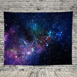 Galaxy Tapestry Wall Hanging Home Decor Dorm Living Room Bedroom 51x60 Inch