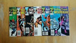 Kitty Pryde And Wolverine, 1-6. Full Run 1984-85, Marvel Comics High Grade