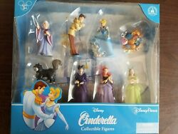 Disney Cinderella Collectible Figures New And Sealed Charming Fairy Godmot